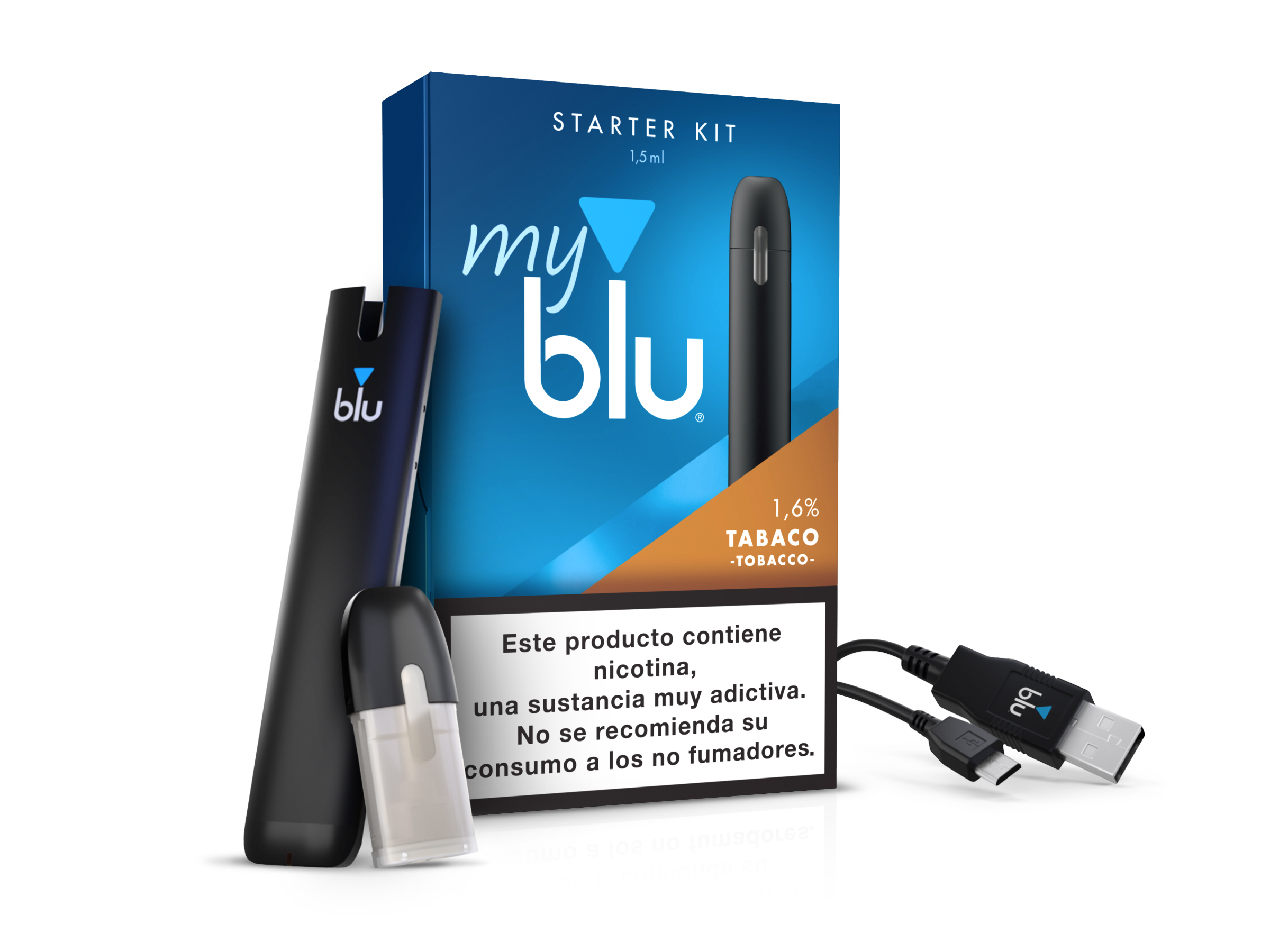 <em>my</em>blu™ Starter Kit Tabaco